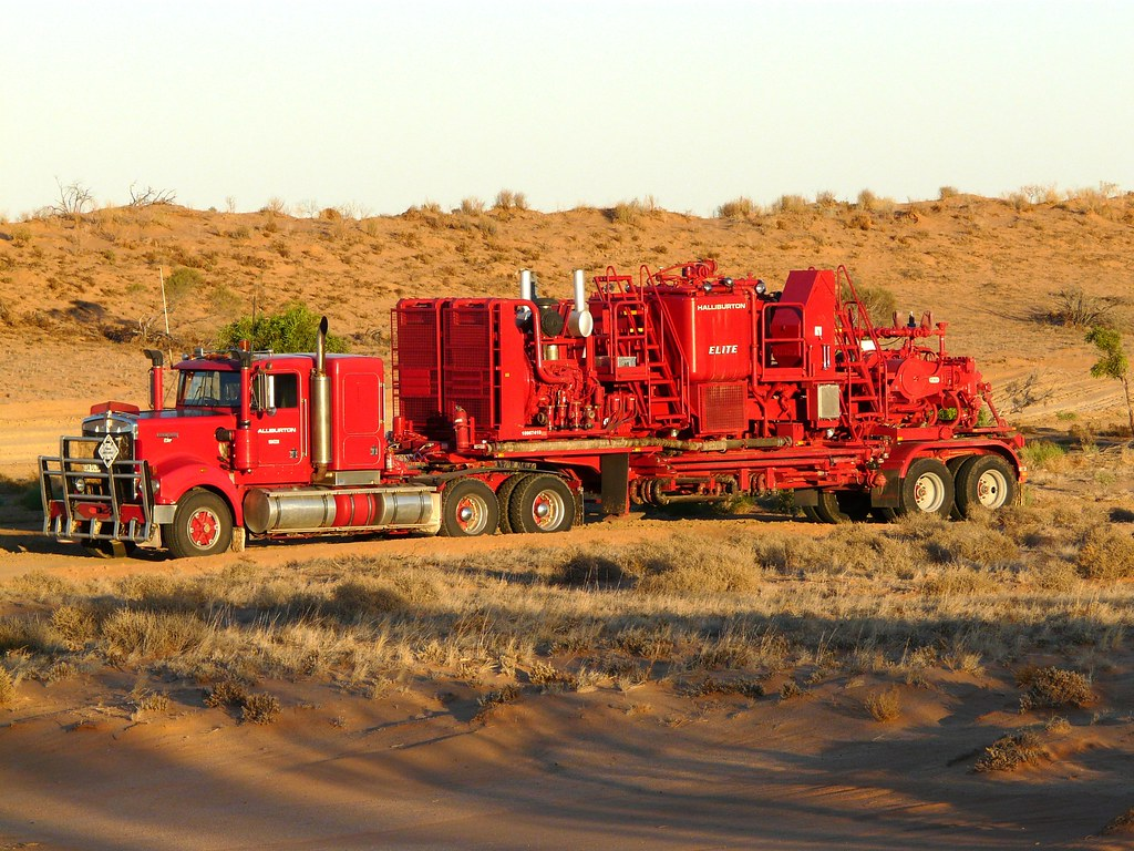 Halliburton Cement Pump Unit