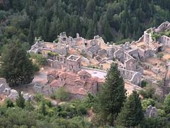 Peloponés: putování do opuštěného byzantského města Mystras