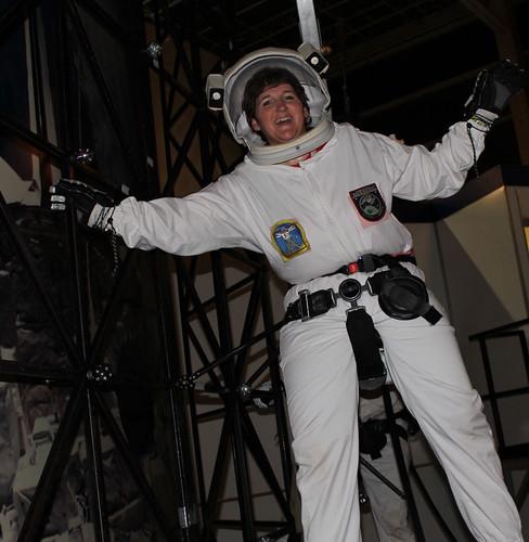 Like an Astronaut....