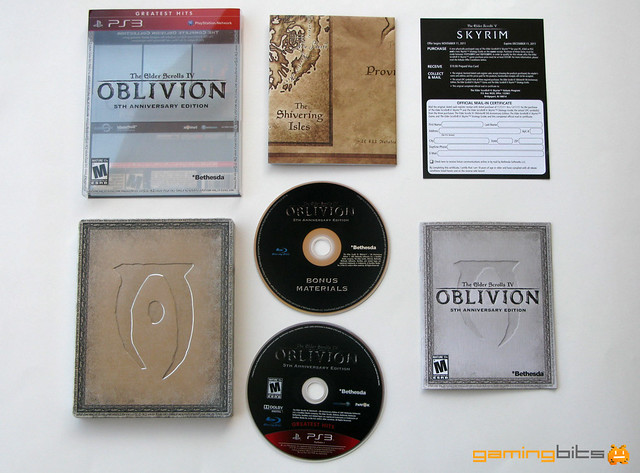 The elder scrolls 4 oblivion game of the year edition.