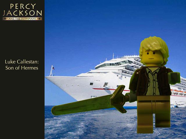 Percy Jackson: Luke Callestan   Flickr - Photo Sharing!  Lego Percy Jackson Luke