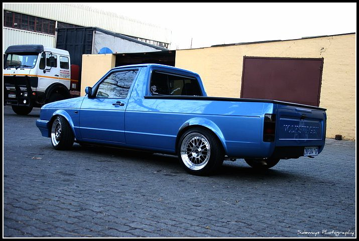 Lowered Caddy Bakkies - Pic Request