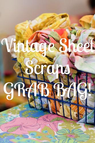 Vintage Sheet Scraps by jenib320