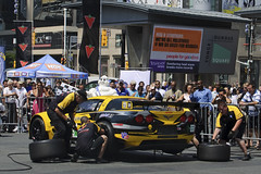 Corvette Racing pit stop challenge, Toronto