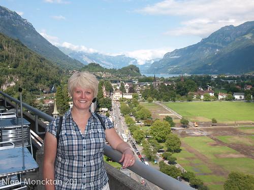 On top of the Interlaken Metropole