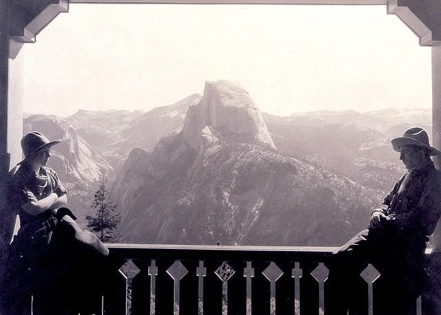 Half Dome, Yosemite, by Ansel Adams