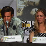 Matt Smith and Kristin Bauer