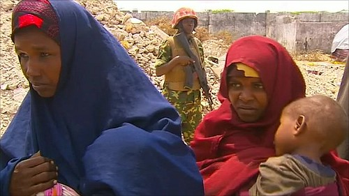 Women in Somalia have been forced to bear the brunt of the drought now taking place in the Horn of Africa region. The United Nations has delcared famine in two areas in the south of the country. by Pan-African News Wire File Photos