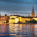 Gamla Stan In Golden Light - (Stockholm, Sweden)