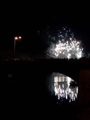 Roanne - Feu d'artifices du 14 juillet 2011