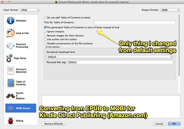 how to add epub to kindle app