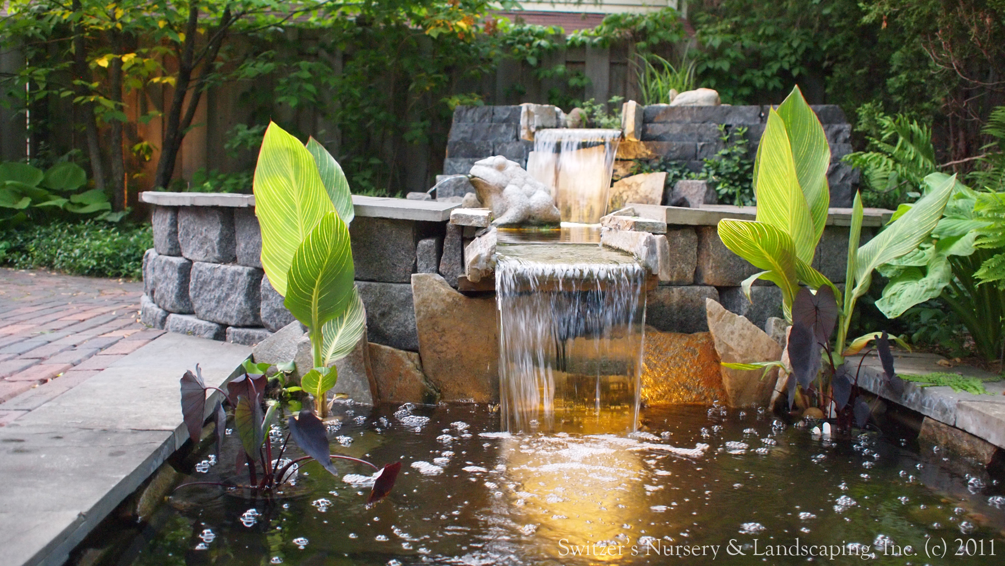 Minnesota landscape design inspired by bali natural for Water garden design