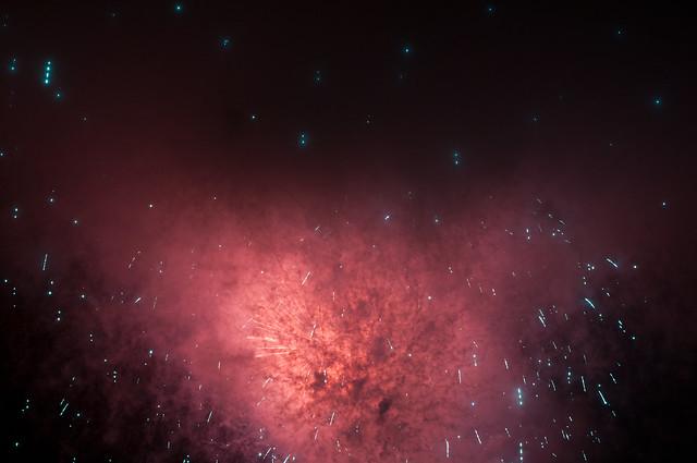 space nebula red - photo #20