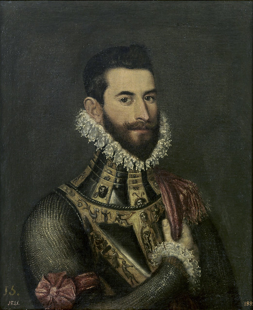 Tintoretto (attr) - Pedro de Medici (16th cent)