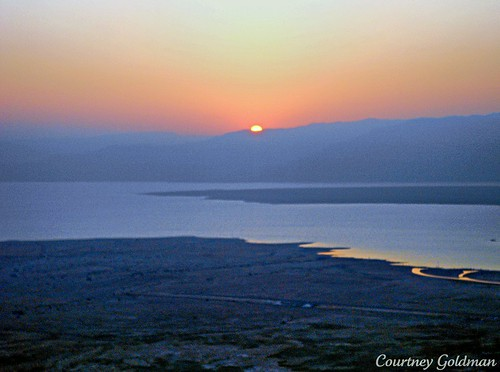 travel sunrise israel masada deadsea