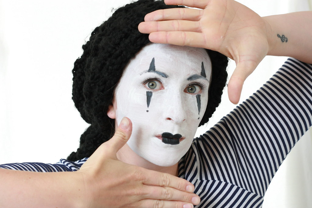 Week 28 of Fifty Two - The Mime