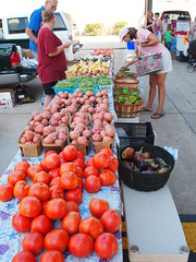 Shreveport Farmers' Market: Colorful veggies