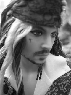Jack Sparrow Barbie doll