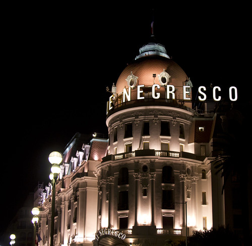 Hotel Negresco on the Promenade des Anglais