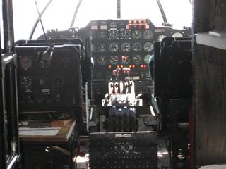 Solent Cockpit, instruments, pilot's seats, crew stations