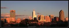 Raleigh Skyline sunset