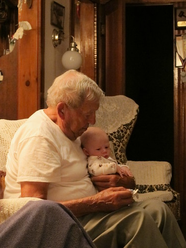 Owen and Great-great-uncle Al