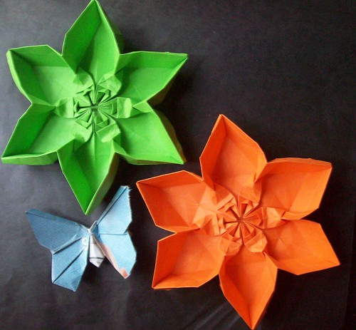 Hexagonal flower container :-) Tutorial :-)