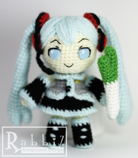 Amigurumi Hatsune Miku : Amigurumi Hatsune Miku with Onion Flickr - Photo Sharing!