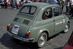 automobile(1.0), fiat(1.0), fiat 500(1.0), wheel(1.0), vehicle(1.0), city car(1.0), fiat 500(1.0), antique car(1.0), land vehicle(1.0),