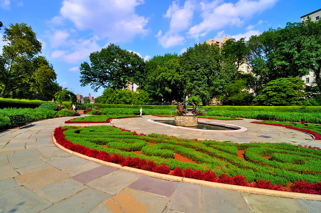 Conservatory Garden Central Park Flickr Photo Sharing