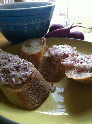 Radish butter