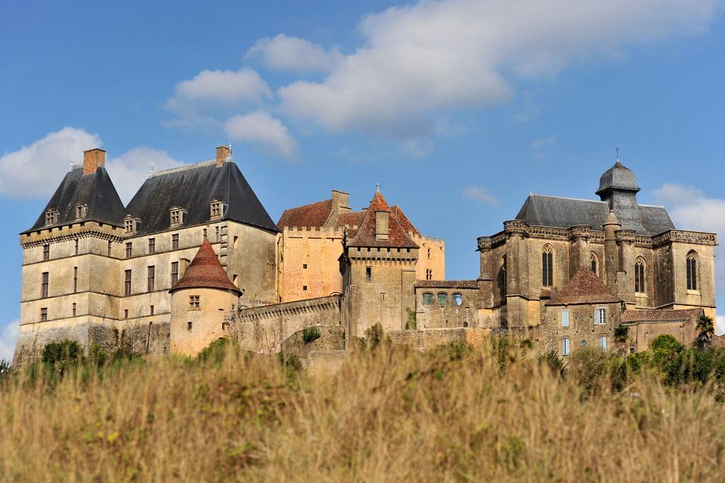 Le château de Biron - Dordogne