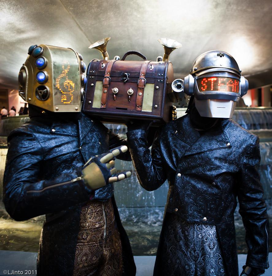 DragonCon Steampunk Daft Punk-3