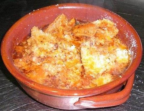 Un piatto all'Osteria La Romanella ad Albano Laziale
