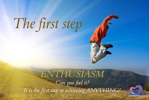Inspirational Quote: The first step