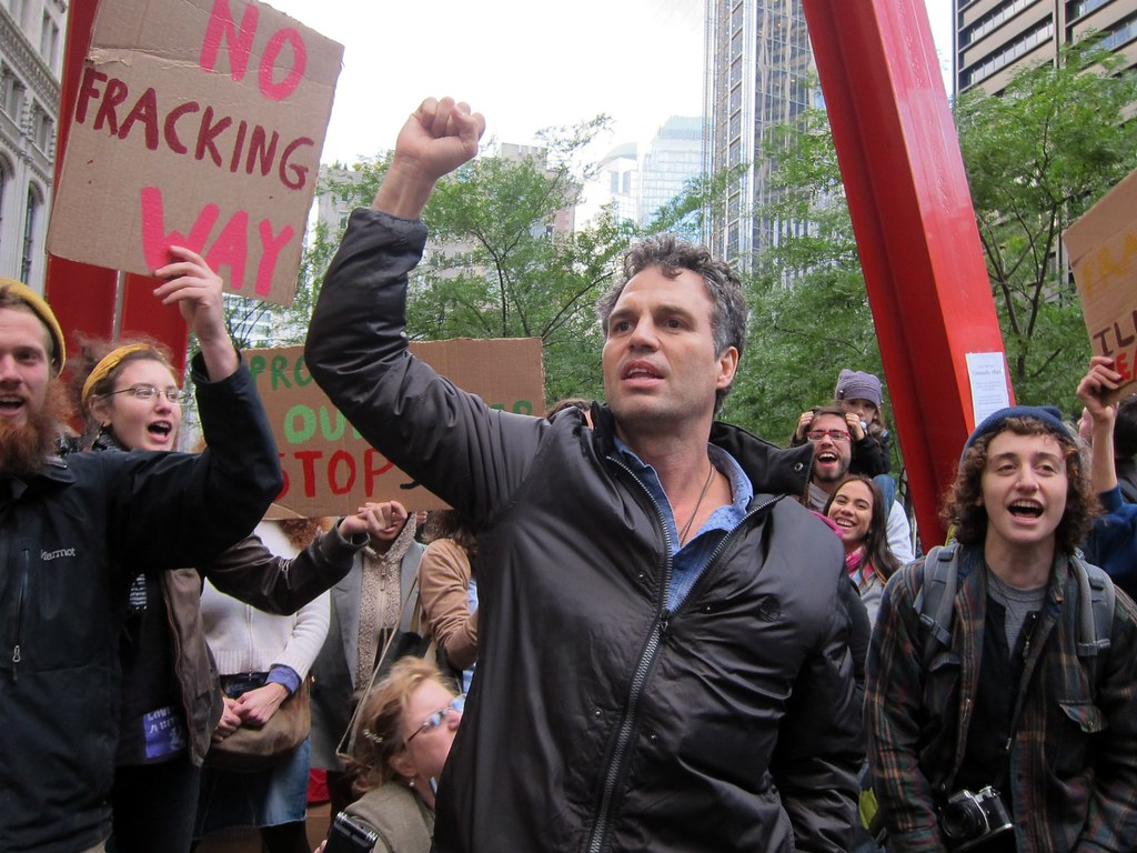 Occupy Wall Street: Day 34, March to Stop the Spectra Pipeline, Mark Ruffalo
