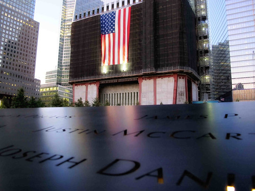 9/11 Memorial 'Flag Reflection' (6-18)
