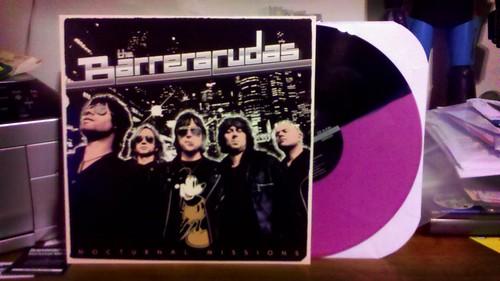 Barreracudas - Nocturnal Missions - Pink & Black Split Vinyl /100