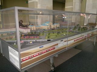 Model of Vilnius Train Station