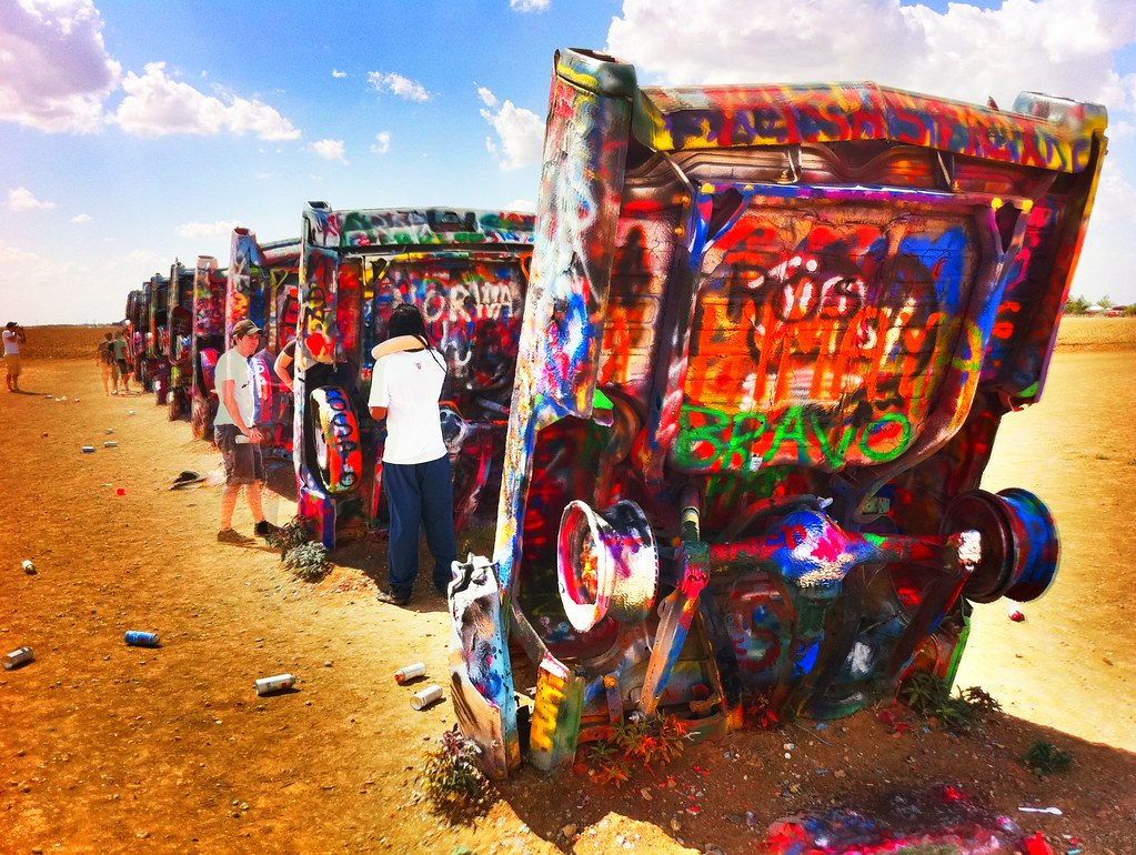 Cadillac Ranch - Amarillo TX