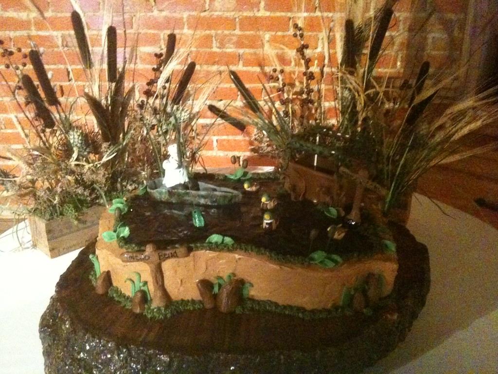 Duck Hunting And Fishing Grooms Cake Lauren Fontenot Flickr