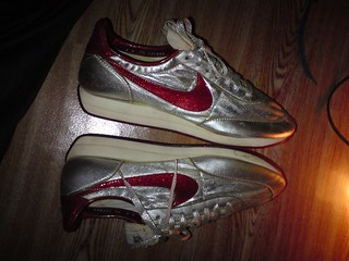 Vintage NIKE Night Track Made in USA