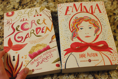 happy thing: two of my favorite books released with snazzy new cover art