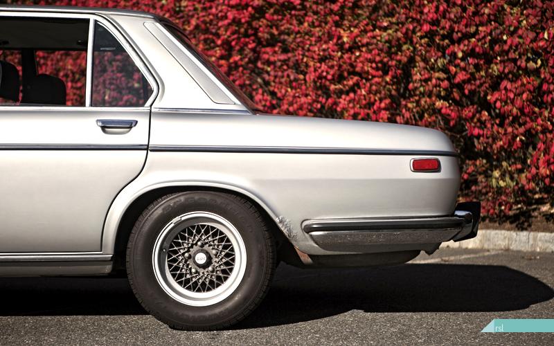1972 BMW Bavaria, fall colors