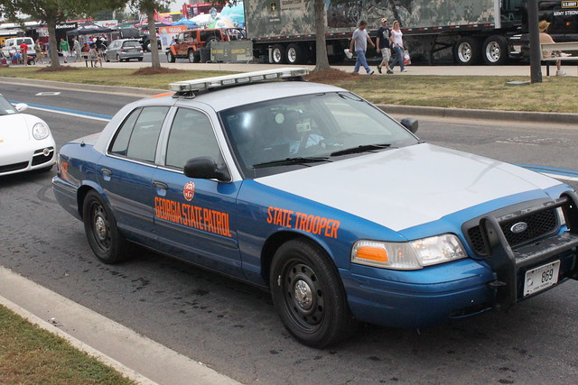 This Georgia State Trooper Car Looks Like Something From