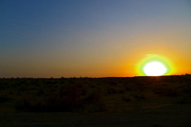 From Khiva to Bukhara  Kyzylkum DesertKyzylkum Desert