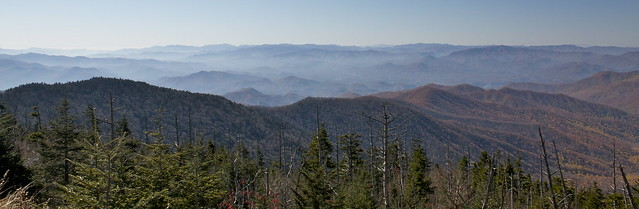 The Smokies panoramic