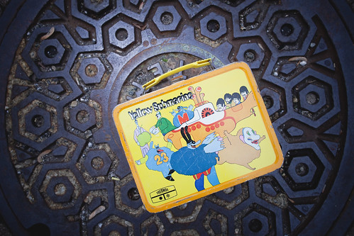 Yellow Submarine lunch box by Wired Photostream