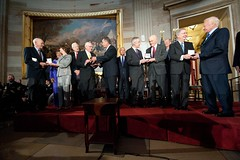 Congressional Gold Medal Ceremony Honoring Astronauts of the New Frontier