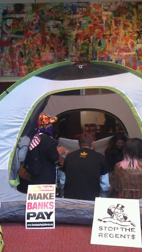 tent in bofa - sf by jim leftwich